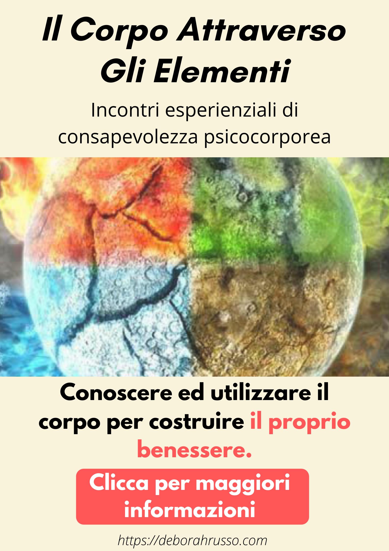 Banner gruppo consapevolezza psicocorporea